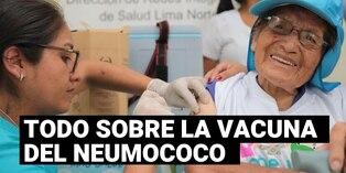 Coronavirus: Todo sobre la vacuna del neumococo en adultos mayores