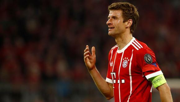 Madrid vs. Bayern: Thomas Müller habló del árbitro previo al duelo por Champions League. (Foto: AFP)
