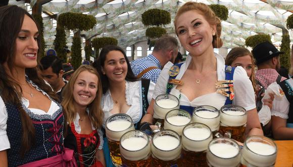 Alemania cancela el Oktoberfest por la pandemia de coronavirus. (AFP / Christof STACHE).