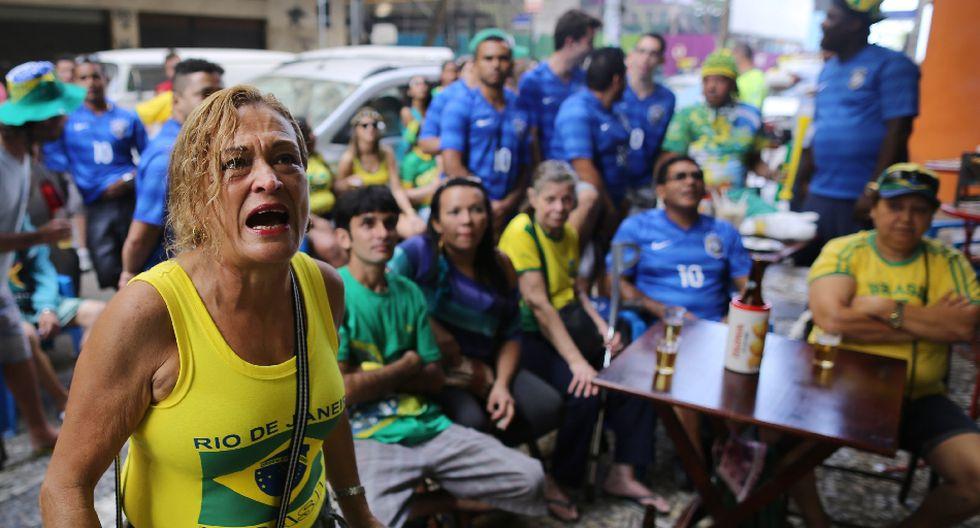 Brasil vs. Chile: los rostros de preocupación tras el alargue - 5