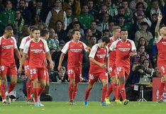 Real Betis cayó 2-1 ante Sevilla por la jornada 13 de la Liga Santander