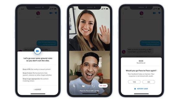 Tinder extiende su videochat a los usuarios de todo el mundo. (Difusión)
