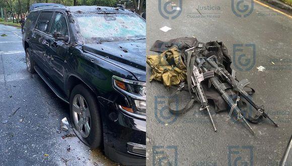 El Cártel Jalisco Nueva Generación intentó asesinar el viernes a Omar García Harfuch, jefe de Seguridad de Ciudad de México. (Foto: EFE, Fiscalía de Ciudad de México.