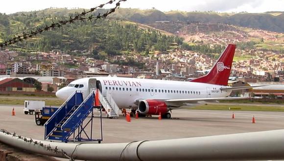 Peruvian Airlines suspendió todos sus vuelos desde Lima debido a un embargo de Aduanas. (Foto: Miguel Neyra/ El Comercio)