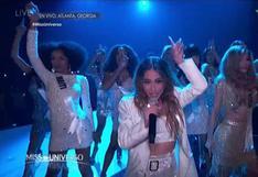 Miss Universo 2019: Ally Brooke abrió la gala con show musical | VIDEO