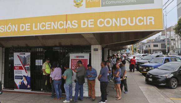 El MTC suspenderá diversos servicios. (Foto: Manuel Melgar | GEC)
