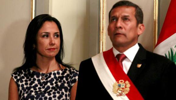En la gestión de Ollanta Humala [2011-2016] se cuestionó el protagonismo de su esposa Nadine Heredia, que viajaba con ministros de Estado y se pronunciaba sobre temas de gobierno. [Foto archivo El Comercio[