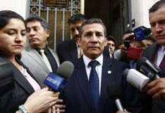 """Ollanta Humala: """"Este nuevo Congreso no va a poder hacer ninguna reforma por el fraccionamiento que va a tener"""""""