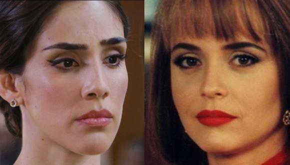 """Tras su éxito en 1998, """"La usurpadora"""" fue revivida en 2019 con una nueva versión, con Sandra Echeverría en lugar de Gabriela Spanic (Foto: Televisa)"""