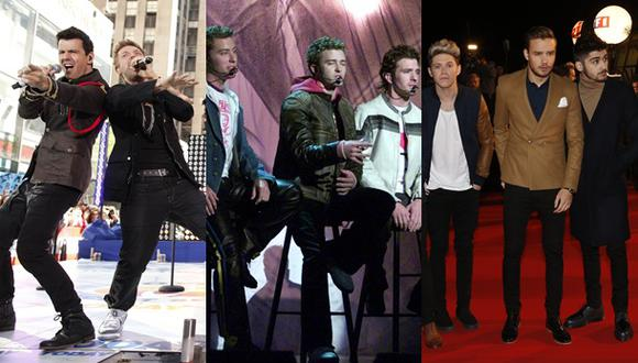 Backstreet Boys, NSync y One Direction juntos en película