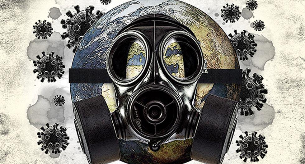 """""""Lo sorprendente es cómo en su camino el virus ha afectado de diferentes maneras a los países"""". (Ilustración: El Comercio)"""