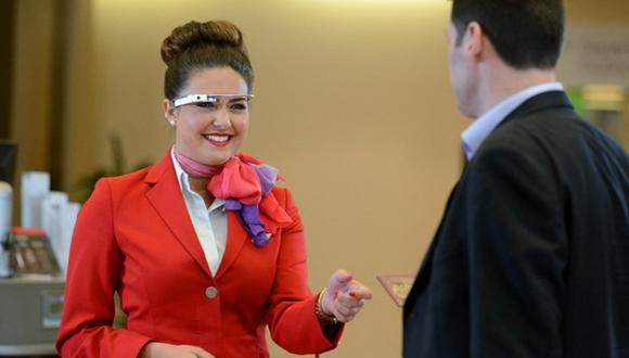 Aerolínea pone a prueba los Google Glass para hacer 'check-in'