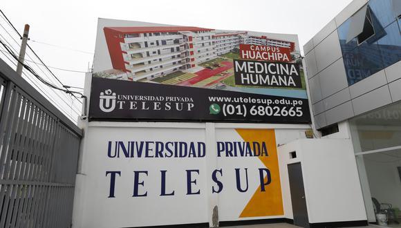 La Sunedu denegó en mayo el licenciamiento institucional a la Telesup. El 9 de setiembre, el Segundo Juzgado Civil de Bagua declaró fundada una demanda de amparo en contra de las resoluciones de la Sunedu. (Foto: GEC)