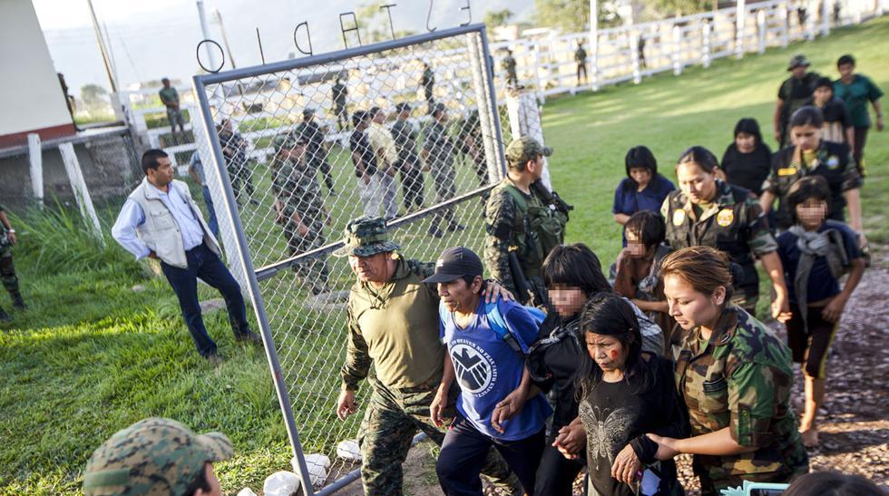 Así fue el rescate de 26 niños y 13 adultos esclavos de Sendero - 10