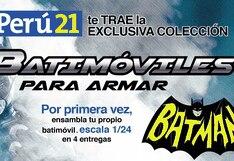 Batman: El mejor superhéroe, el mejor vehículo