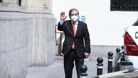 """Óscar Ugarte señaló que la vacunación de quienes serán miembros de mesa es """"una preocupación especial"""". (Foto: Britannie Arroyo/ GEC)"""