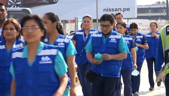 Personal de Essalud se encuentra en el aeropuerto Jorge Chávez para evaluar posibles casos de coronavirus en pasajeros que provengan de China, Italia, Francia y España. (Imagen: Difusión)
