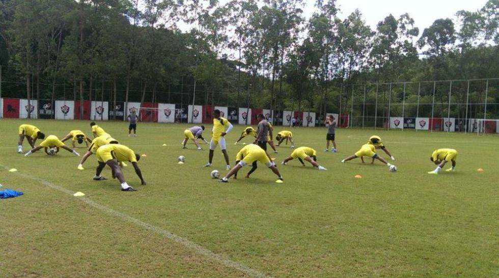 Equipo de César Vallejo entrenó en Brasil bajo calor agobiante  - 2