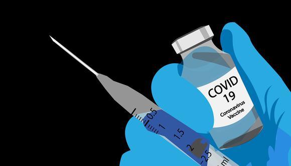 Una vial de la vacuna contra el COVID-19. (Ilustración: Pixabay)