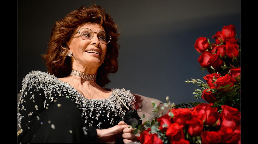 Sophia Loren recibió homenaje en el AFI Fest 2014 - 1
