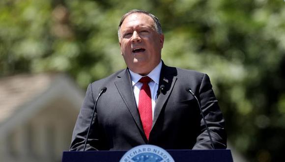 Mike Pompeo, el jefe de la diplomacia de Estados Unidos. (EFE/EPA/DAVID SWANSON).