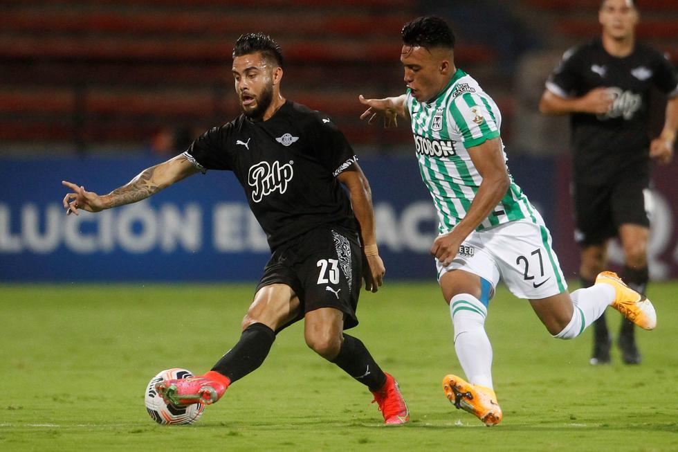 Atlético Nacional enfrentó a Libertad por la Copa Libertadores 2021