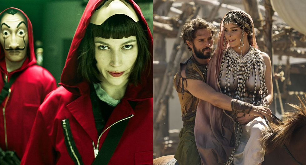 """""""La casa de papel"""" y """"Troya: la caída de una ciudad"""" han generado gran expectativa entre el público consumidor de Netflix. (Fotos: Netflix)"""