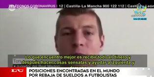 Coronavirus: reducción de sueldos desata polémica en el mundo del fútbol