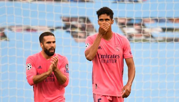 """Raphael Varane tras errores frente al Manchester City: """"Esta derrota es mía, lo tengo que asumir""""   Foto: AFP"""