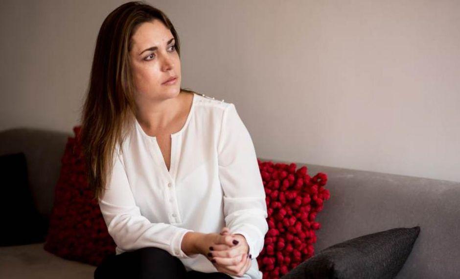 La periodista Melissa Peschiera denuncia que es acosada sexualmente desde el 2016 (Foto: Karen Zárate)
