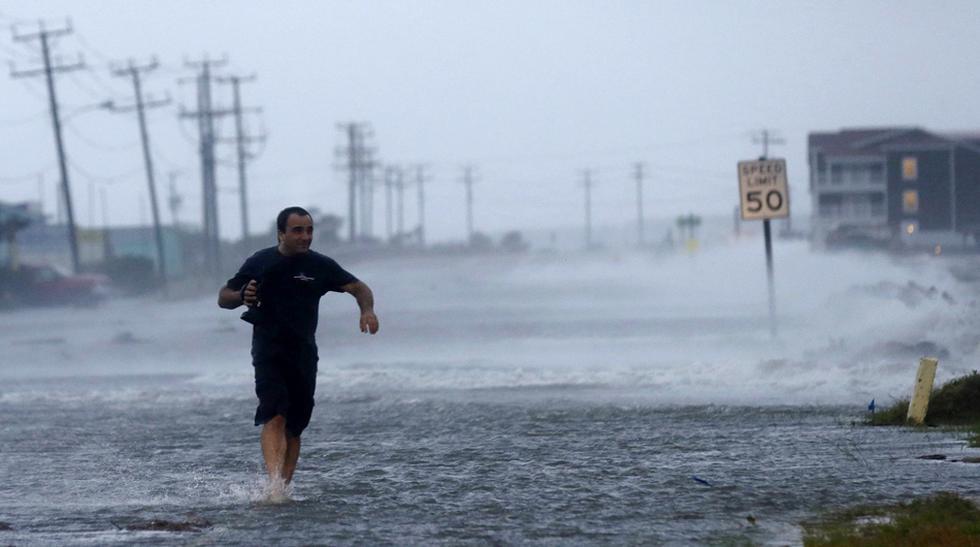 El huracán Arthur en su paso por Estados Unidos [FOTOS] - 1