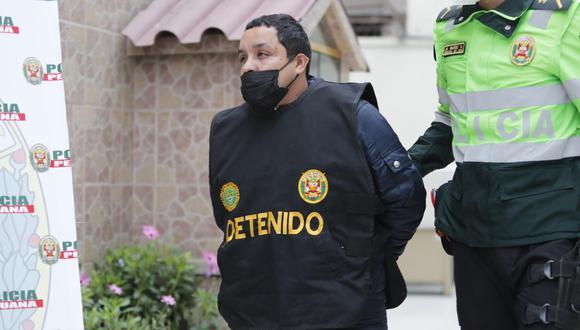 Jean Pierre Cánepa Arica (36) había escondido el vehículo en una cochera. (Foto: GEC)