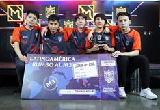 Jugadores peruanos clasifican al Mundial del videojuego Mobile Legends