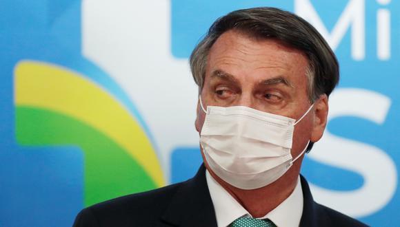 El presidente de Brasil, Jair Bolsonaro. (REUTERS/Ueslei Marcelino).