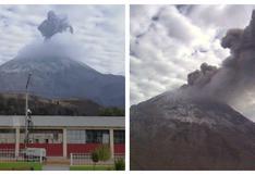 Moquegua: el volcán Ubinas registra una nueva explosión