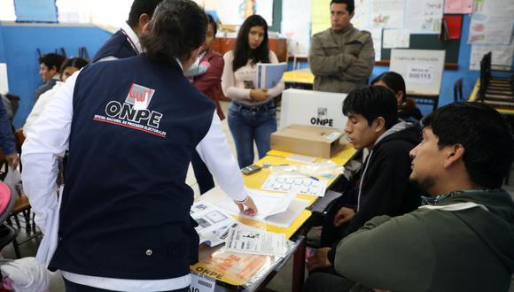 Elecciones distritales complementarias en nueve regiones se realizaron este domingo con la asistencia de casi 50 mil personas. (Foto: Difusión)