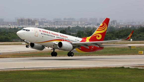 """""""La negativa del gobierno de China a aprobar esas solicitudes es una violación de nuestro Acuerdo de Transporte Aéreo"""". Hainan Airlines. (Foto: Shutterstock)"""