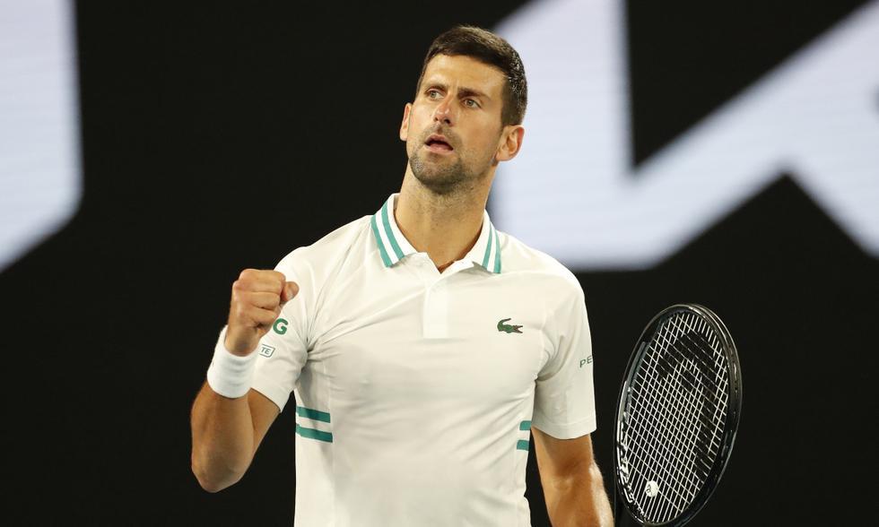 Novak Djokovic derrotó 7-6 (4), 4-6, 6-1, 6-4 a Milos Raonic   Foto: REUTERS