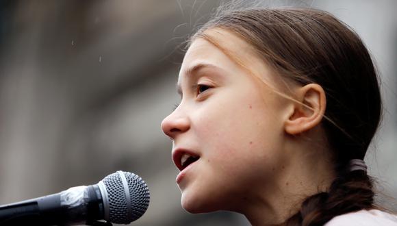 Greta Thunberg, activista sueca de 18 años. (Foto: Reuters)