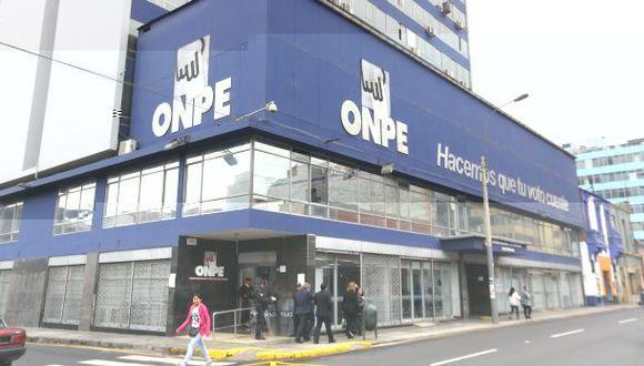 ONPE plantea fecha única para elecciones internas de partidos