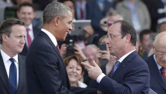 ¿Qué le dijo Obama a Hollande ante las pruebas de espionaje?