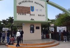 Lambayeque: Universidad Pedro Ruiz Gallo es tomada por estudiantes tras juramentación de nuevo rector interino