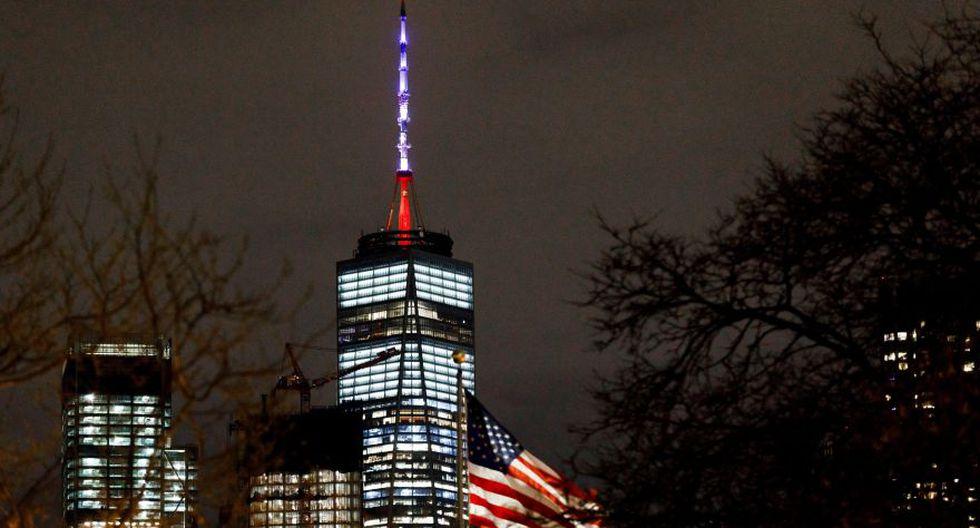 El World Trade Center se iluminará de rojo, azul y blanco por incendio en la catedral de Notre Dame. (EFE)