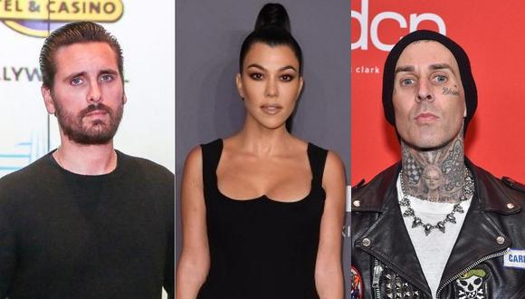 Kourtney Kardashian tiene tres hijos con su ex Scott Disick y actualmente es pareja de Travis Barker. (Foto: AFP)