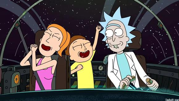 """Rick and Morty"" regresan a Adult Swim este 10 de noviembre a las 11:30 p.m. (Foto: Adult Swim)"