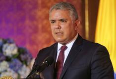 Duque dice que no teme a delincuentes tras amenazas del disidente Santrich