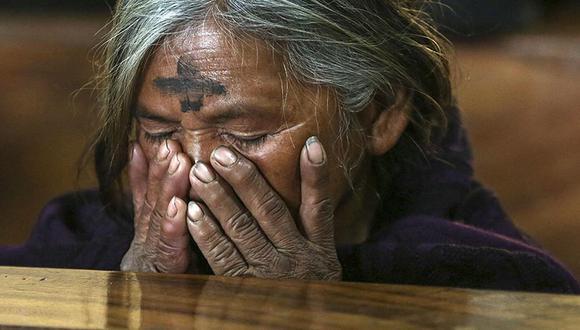 El Miércoles de ceniza es una ceremonia sagrada para el catolicismo. (Foto: Agencias)
