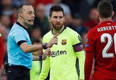 Barcelona vs. Napoli: árbitro del duelo por Champions será el mismo de la goleada sufrida en Anfield