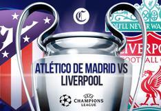 Atlético de Madrid vs. Liverpool en vivo online: a qué hora juegan y canal de la Champions