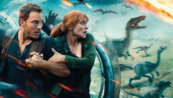 """El gigante del streaming estrena este jueves 12 de noviembre tres grandes producciones, entre ellas la película """"Jurassic World: El reino caído"""" (Foto: Netflix)"""